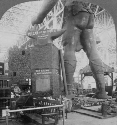 <i>At the Feet of Old Vulcan - Palace of Mines and Metallurgy...</i> image. Click for full size.