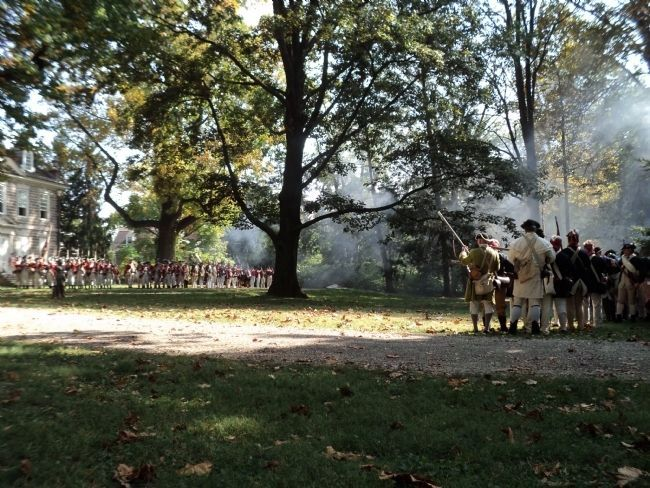 Battle of Germantown image. Click for full size.