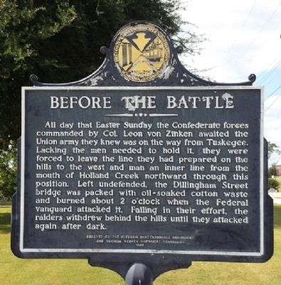 Before The Battle Marker image. Click for full size.