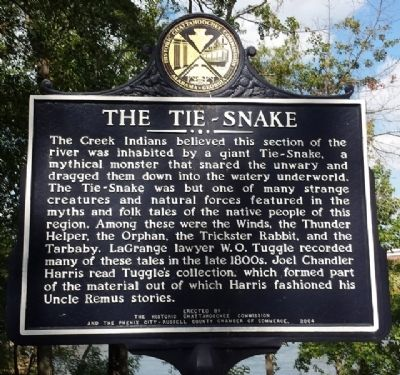 The Tie-Snake Marker image. Click for full size.