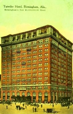 Tutwiler Hotel image. Click for full size.