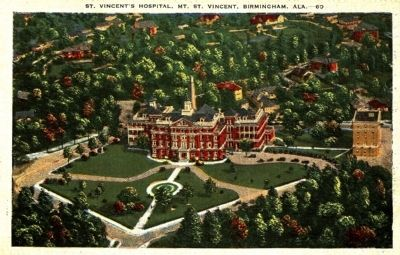 St. Vincent's Hospital image. Click for full size.