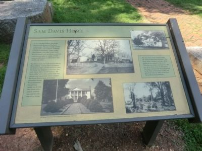 Sam Davis Home Marker image. Click for full size.