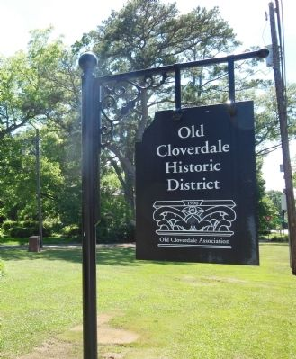 Cloverdale Historic District image. Click for full size.