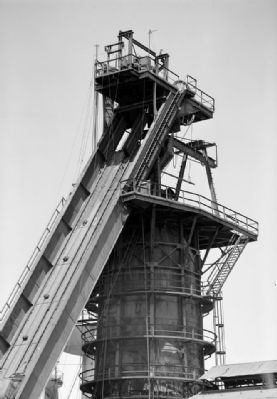 The Top of Blast Furnace No. 1 image. Click for full size.