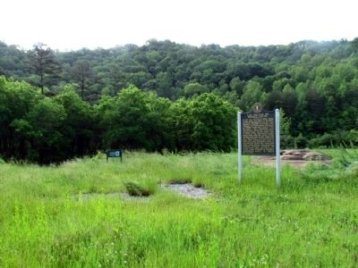 Part of Middle Creek Battlefield near Marker image. Click for full size.