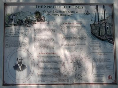 The Spirit of the Times Marker image. Click for full size.