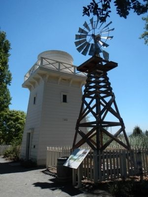 Windmill and Watertower House image. Click for full size.