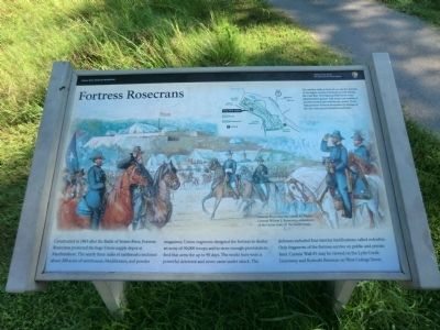 Fortress Rosecrans Marker image. Click for full size.