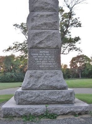 Camp Release State Monument image. Click for full size.