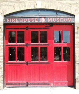 Engine House No. 3 Door image. Click for full size.