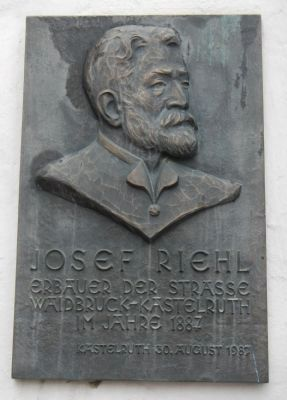 Josef Riehl Marker image. Click for full size.