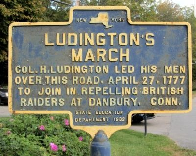 Ludington's March Marker image. Click for full size.