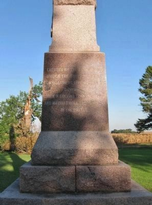 Wood Lake Battlefield State Monument image. Click for full size.