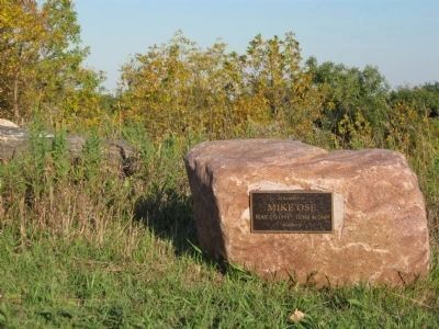 Boulder at Wood Lake Battlefield image. Click for full size.