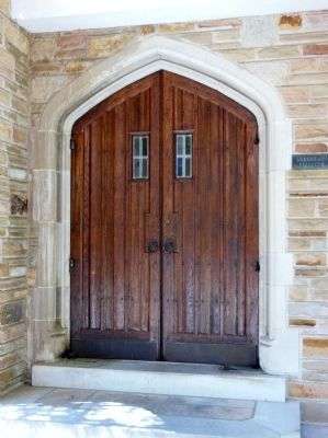 First United Methodist Church Door image. Click for full size.