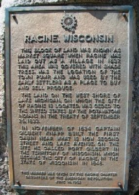 Racine, Wisconsin Marker image. Click for full size.