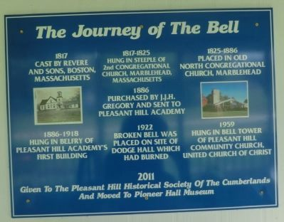 The Journey of the Bell Marker image. Click for full size.