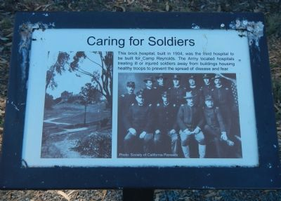 Caring for Soldiers Marker image. Click for full size.