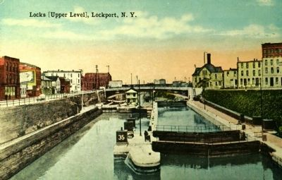 Lockport Locks (Upper Level) image. Click for full size.