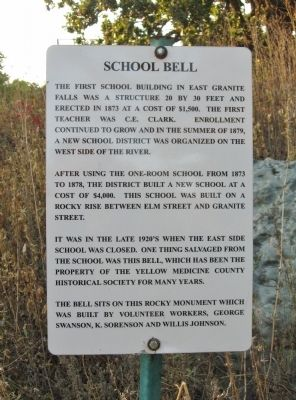 School Bell Marker image. Click for full size.
