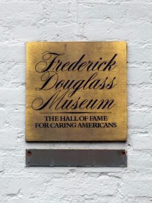 Frederick Douglass Museum<br>The Hall of Fame for Caring Americans image. Click for full size.
