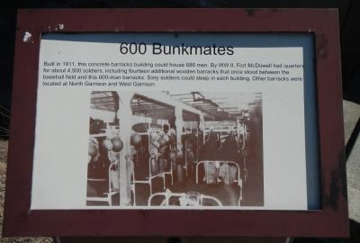 600 Bunkmates Marker image. Click for full size.