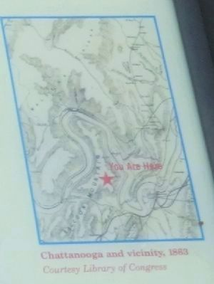 Map located in the upper right side of the marker image. Click for full size.