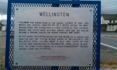 Wellington Marker image. Click for full size.