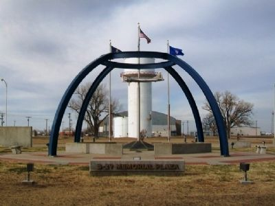 The B-29 Memorial at Great Bend KS image. Click for full size.