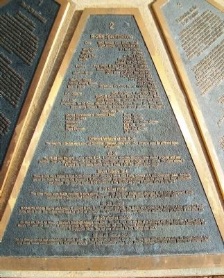 The B-29 Memorial Panel 2 Marker image. Click for full size.