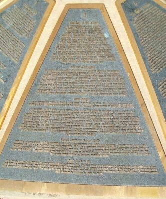The B-29 Memorial Panel 4 Marker image. Click for full size.