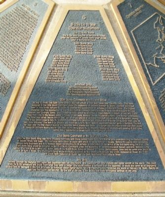 The B-29 Memorial Panel 6 Marker image. Click for full size.