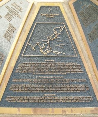 The B-29 Memorial Panel 7 Marker image. Click for full size.