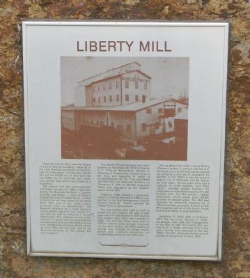 Liberty Mill Marker image. Click for full size.