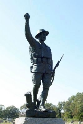 'Spirit Of The American Doughboy' Marker image. Click for more information.