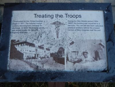 Treating the Troops Marker image. Click for full size.
