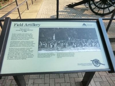 Field Artillery Marker image. Click for full size.