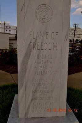 Flame of Freedom Monument image. Click for full size.