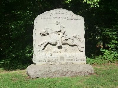 1st Ohio Cavalry Monument image. Click for full size.