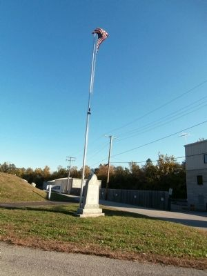 Long View - - Veterans Memorial Marker image. Click for full size.