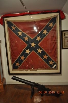 """Battle Flag of the Confederacy"" Marker image, Touch for more information"