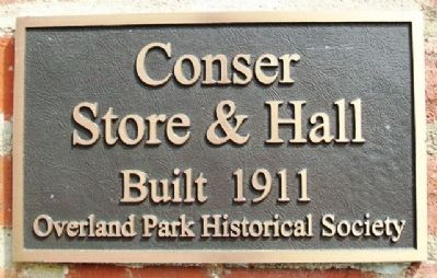 Conser Store & Hall Marker image. Click for full size.