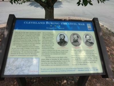 Cleveland During the Civil War Marker image. Click for full size.