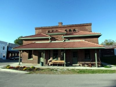 T.H.I.&E. Interurban Depot Building image. Click for full size.