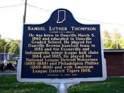 Samuel Luther Thompson Marker image. Click for full size.