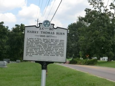 Harry Thomas Burn Marker image. Click for full size.