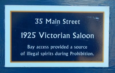 1925 Victorian Saloon Marker image. Click for full size.