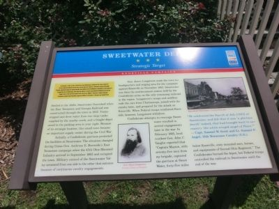 Sweetwater Depot Marker image. Click for full size.
