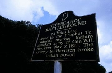 Tippecanoe Battleground Marker image. Click for full size.